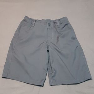 2/$20 Youth boys gray Under Armour golf shorts